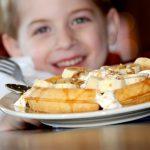 Kaden with Waffle Smile