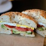 tomato-avocado-egg-bagel-sandwich Yolas Cafe Madison WI